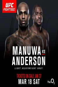 Manuwa vs Anderson 18th March (2017)